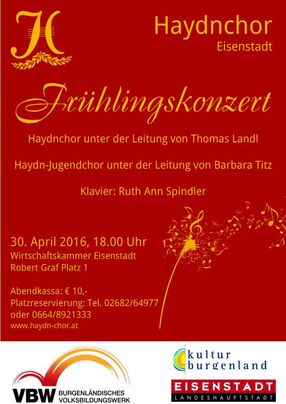 Plakat Frühlingskonzert A2 2016 Final